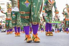 Chaussures d'interprètes au carnaval images stock
