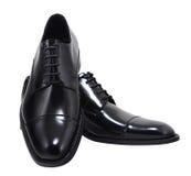 Chaussures d'isolement avec le chemin de découpage Photographie stock