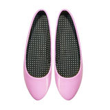Chaussures d'isolement sur le fond blanc? Images stock