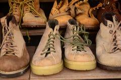 Chaussures d'occasion Photographie stock libre de droits