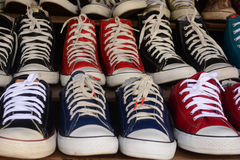 Chaussures d'occasion Image stock