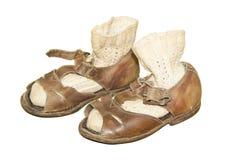 Chaussures de bébé Photographie stock