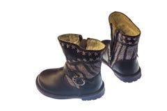 Chaussures de bébé pour la chute et le printemps Image stock