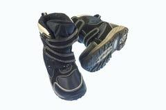 Chaussures de bébé pour la chute et le printemps Image libre de droits