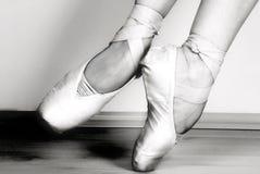 Chaussures de ballet Images libres de droits