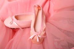 Chaussures de ballet Photos stock