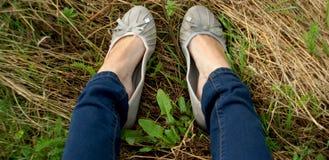 Chaussures de ballet image libre de droits