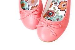 Chaussures de ballet roses Photo stock