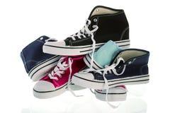 Chaussures de basket-ball Photos stock