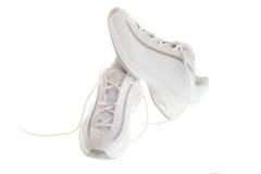 Chaussures de basket-ball Photo libre de droits