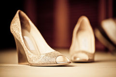 Chaussures de Bling Images stock