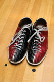 Chaussures de bowling Photographie stock
