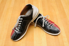 Chaussures de bowling Photographie stock libre de droits