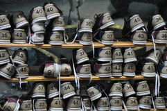 Chaussures de bowling photo libre de droits