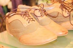 Chaussures de Brown Photo stock