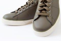 Chaussures de Brown. Photographie stock libre de droits