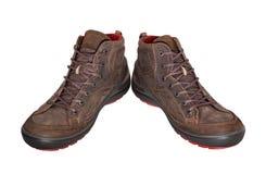 Chaussures de Brown image stock