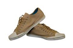 Chaussures de Brown pour le mâle Image stock