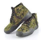 Chaussures de camouflage Image libre de droits