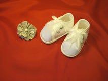 Chaussures de chéri Images libres de droits