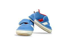 Chaussures de chéri d'isolement Photos libres de droits