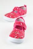 Chaussures de chéri rouges Photos libres de droits
