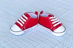 Chaussures de chéri rouges Image libre de droits