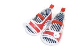Chaussures de chéri rouges Photo libre de droits