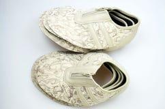 Chaussures de concepteur de production, conférences photo libre de droits