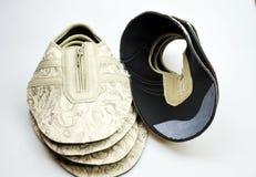 Chaussures de concepteur de production, conférences image stock