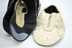 Chaussures de concepteur de production, conférences image libre de droits