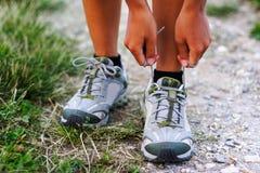 Chaussures de course photos stock