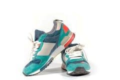 Chaussures de course de belle mode Photographie stock