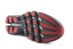 Chaussures de course macro Image stock