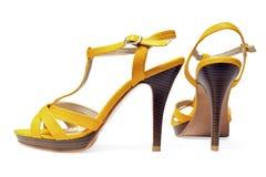 Chaussures de femme Images stock