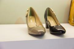 Chaussures de femme images libres de droits