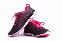Chaussures de femme de sport Photo stock