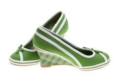 chaussures de filles Photos stock