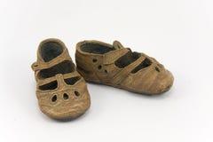 chaussures de filles portées Photo libre de droits