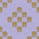Chaussures de fond Vecteur de chaussures Configuration sans joint Images libres de droits
