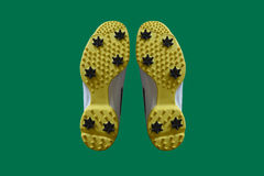 Chaussures de golf Photos libres de droits