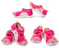 Chaussures de gosses Photos libres de droits