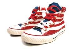 Chaussures de gymnastique Photo libre de droits