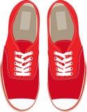 Chaussures de gymnastique Images libres de droits