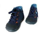 Chaussures de gymnastique d'enfant Image libre de droits