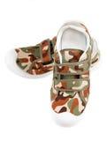 Chaussures de gymnastique des sports des enfants d'isolement Photo stock
