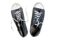 chaussures de gymnastique usées Image libre de droits
