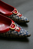 Chaussures de haut talon Photos libres de droits