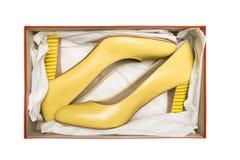 Chaussures de haut talon dans le cadre Images libres de droits