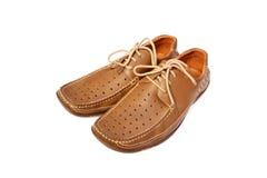 Chaussures de l'été des hommes Photos stock